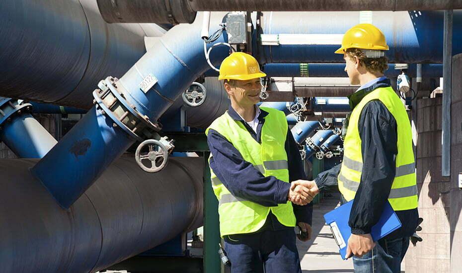 Work Health and Safety Handshake